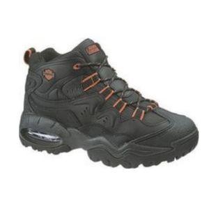 Harley Davidson Men Shoes Boots 94050 Black Orange